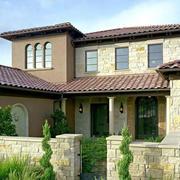 别墅浅色瓷砖设计