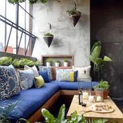 雅居绿意餐厅背景墙图示