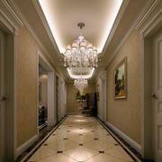 别墅简欧风格吊顶灯饰设计