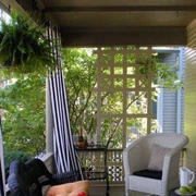 入户花园桌椅设计