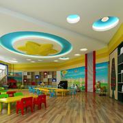 幼儿园教室吊顶设计