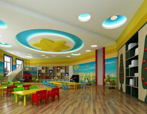 幼儿园教室墙面布置效果图案例大全