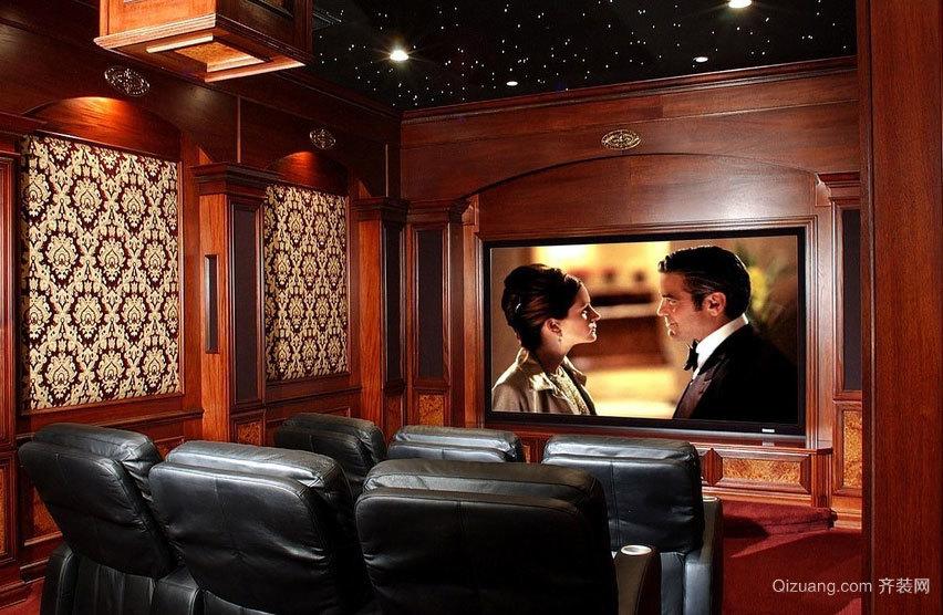 充满奇幻色彩的大户型家庭影院装修效果图欣赏实例