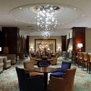 酒店创意餐厅灯饰设计