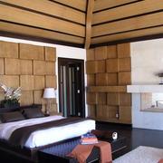 全原木现代化卧室装修
