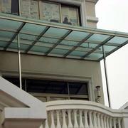 高层玻璃雨棚设计图