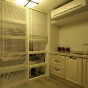 日式暖色厨房灯饰设计