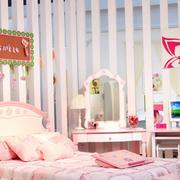 欧式公主式儿童房设计