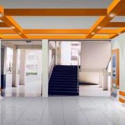 展厅原木吊顶设计