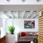 地下室沙发背景墙设计