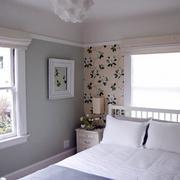 美式朴质风格卧室图示