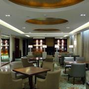 酒店简约风格吊顶设计