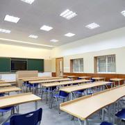 现代简约风格教室吊顶