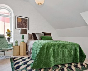 多样款式的宜家温暖梦幻20平米小卧室墙面装修装饰效果图