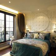 卧室石膏板背景墙