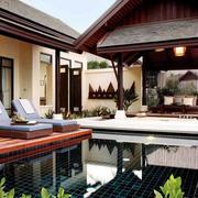 酒店休闲阳台装修设计