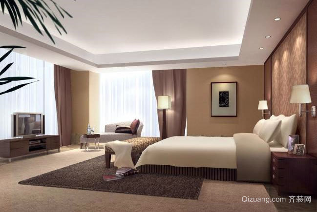 小公寓装修:单身女性喜爱的小卧室装修效果图