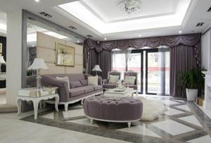 欧式客厅地砖设计