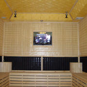 汗蒸房电视墙设计
