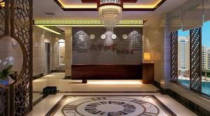 环境不错的快捷酒店装修设计效果图