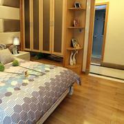原木色卧室地砖设计