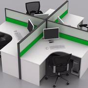 时尚办公电脑桌隔断