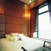 豪宅欧式风格卧室软包背景墙设计