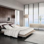 海景房卧室床头背景墙设计