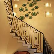 楼梯道照片墙设计