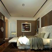 卧室现代简约风格吊顶