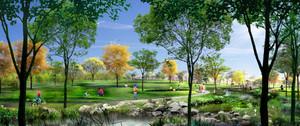苏州富有特色的园林景观设计效果图