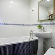 卫生间浴缸设计图示
