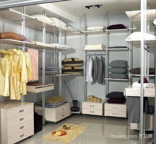 50平米小别墅韩式简约风格衣帽间装修效果图