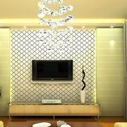 别墅密集型背景墙设计