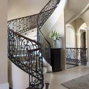 气质旋转楼梯装修