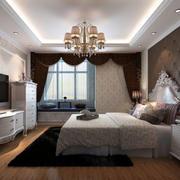 别墅卧室飘窗设计
