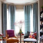 别墅客厅窗帘装修