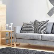 浅灰色客厅沙发效果图
