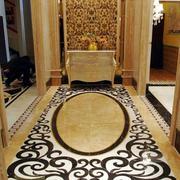 欧式奢华玄关装修设计