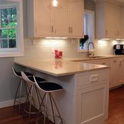 美式简约风格厨房橱柜装修