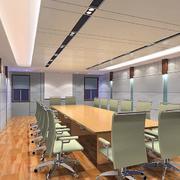 简约风格会议室吊顶装修