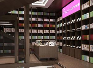 现代都市充满书香的大型书店装修效果图欣赏图集