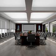 大型会议室桌椅设计