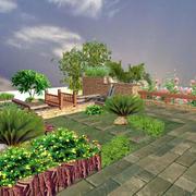 别墅花园绿化装修