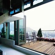 大型豪宅阳台设计