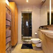 小户型卫生间简约瓷砖设计
