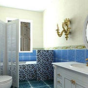 卫生间梳妆台设计