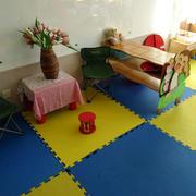 幼儿园简约风格地板设计