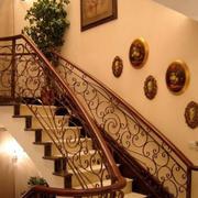 复古风格楼梯装饰