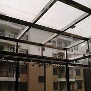 小区简约雨棚设计